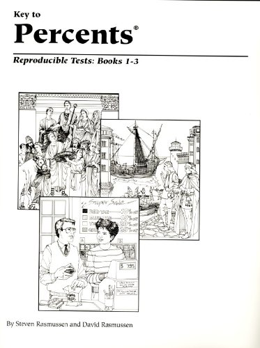 Key to Percents: Reproducible Tests, Books 1 - 3 (KEY TO...WORKBOOKS)