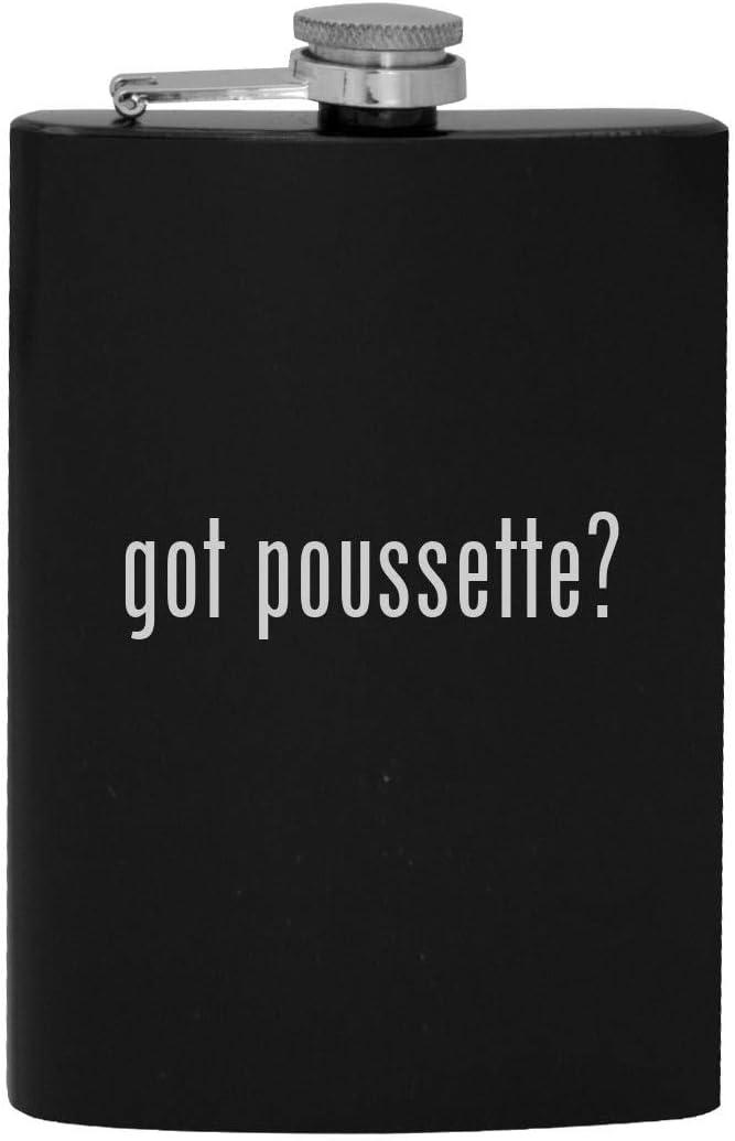 got poussette? - 8oz Hip Drinking Alcohol Flask