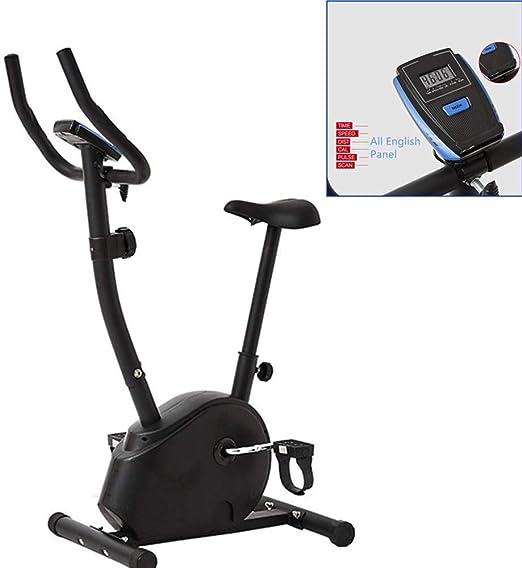 Bicicleta estática vertical magnética, con pantalla LCD ...