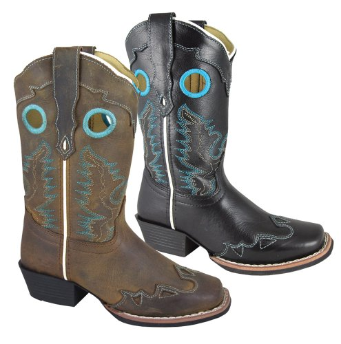 Smoky Mountain Children's El Dorado Boots - Brown Distress Child 8.5 ()