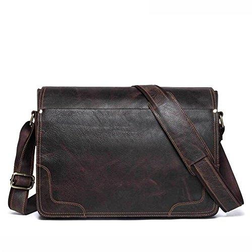 Crossbody la Uomo Bags lavoro il pelle Messenger vintage Aszdfihas per Bag Messenger in Bag Travel Day e scuola dOwdxqU