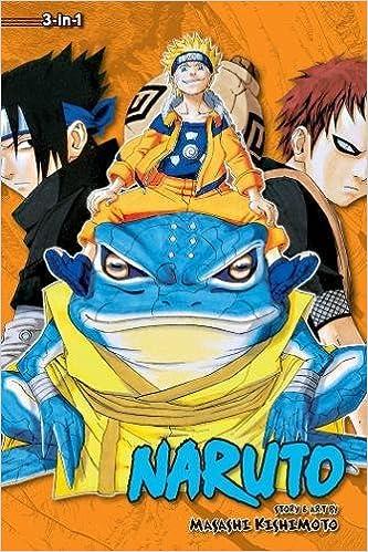 Naruto (3-in-1 Edition), Vol  5: Includes vols  13, 14 & 15