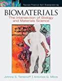 Biomaterials: The Intersection of Biology and Materials Science by Temenoff Johnna S. Mikos Antonios G. (2008-01-12) Hardcover