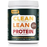 Nuzest Clean Lean Protein - Premium Pea Protein Powder, Plant-based, Vegan, Dairy Free, Gluten Free, GMO Free, Naturally Sweetened, Rich Chocolate, 20 servings, 1.1 lb