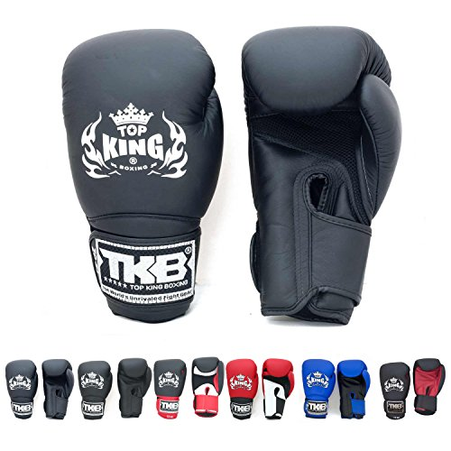 Top King Gloves Color Black White Red Blue - Boxing Gloves Top Ten
