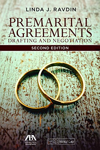 Premarital Agreements: Drafting and Negotiation by American Bar Association