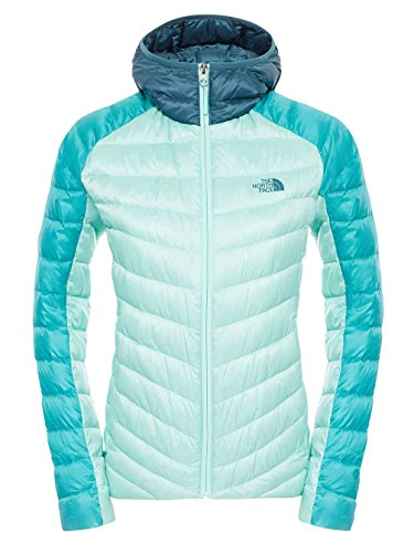 FACE Tonnerro Blue Ladies NORTH THE Green Hoodie Jacket qfnBOWxw7
