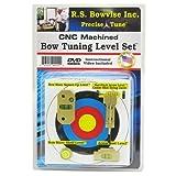 Rs Bowvise Ultimate CNC Aluminum Bow Tuning Level Set