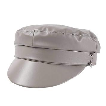 HSLPLX Sombrero de otoño Invierno para Mujer Gorras de Vendedor de ...