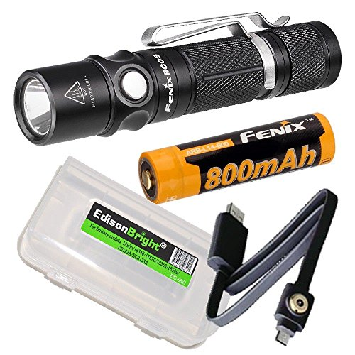 RC05 rechargeable Flashlight battery EdisonBright product image