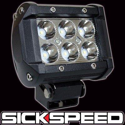 18W Led Spot Beam Power Sport Fog Lamp Off Road Light Bar For Cars/Trucks P3 for Hummer H2