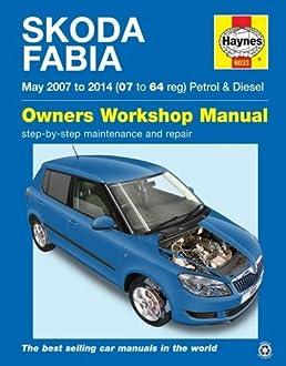 skoda fabia petrol diesel may 07 14 haynes repair manual amazon rh amazon co uk skoda octavia repair manual skoda octavia repair manual