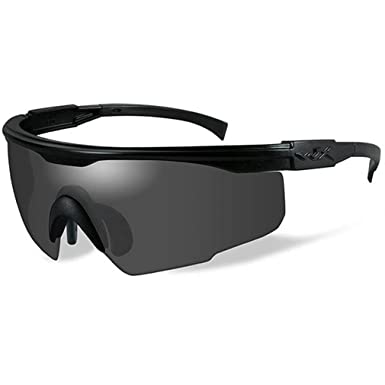 WileyX PT-1 Schießbrille Smoke Green Lenses 7GdaD