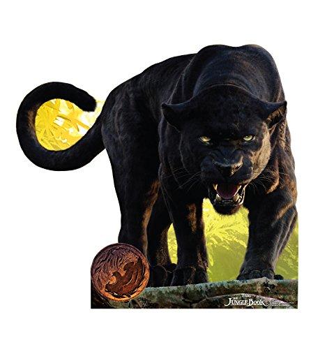 Panther Jungle Book - Advanced Graphics Bagheera Life Size Cardboard Cutout Standup - Disney's The Jungle Book (2016)