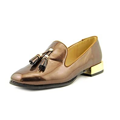 a0680fc1a Amazon.com | Bellini Women's Brittany Tassel Loafer, Bronze Patent ...