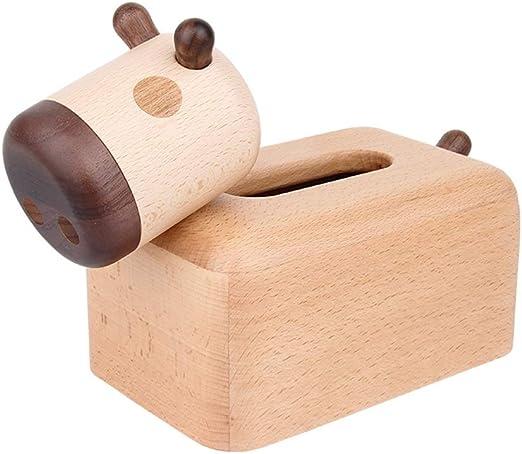 YZPZJH El diseño Moderno de la Caja de pañuelos de Madera se ...