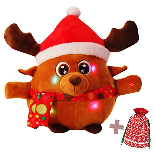 Jacafry Rudolph Light-Up Toy...