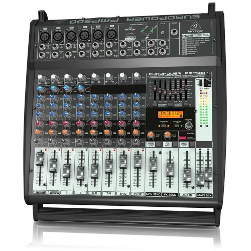 250w Stereo Powered Mixer - 8