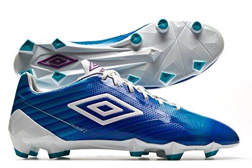 Men's Hg Velocita Club White Blue Football Bird Pur Boots Umbro 2 R7dZdx
