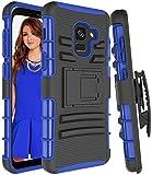Galaxy A8(2018) Phone Case,iLovey Hybrid Kickstand...