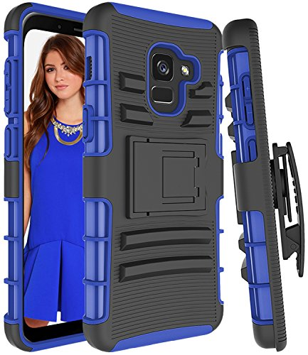 galaxy a8 kickstand heavy duty protective case