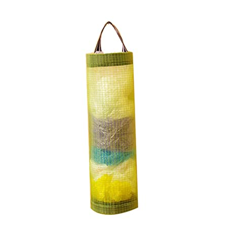 Rocita La Bolsa de plástico Dispensadores sostenedor Plegable Malla Bolsas de Basura Colgantes Bolsa de Almacenamiento