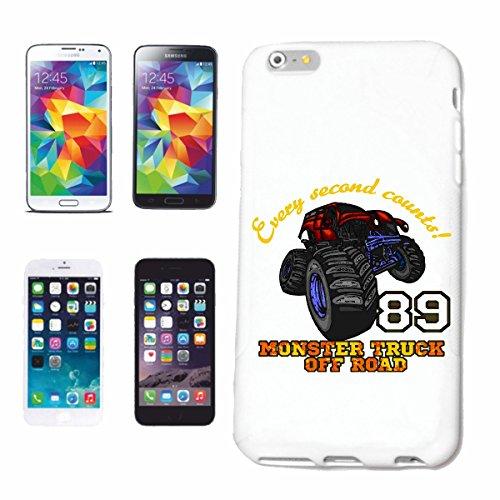 "cas de téléphone iPhone 6S ""OFF ROAD 4X4 MONSTER TRUCK 4 × 4 LANDROVER BUGGY AUTOCROSS Stockcar RACE"" Hard Case Cover Téléphone Covers Smart Cover pour Apple iPhone en blanc"