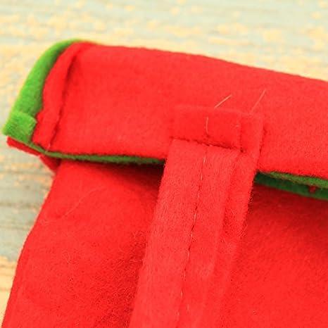 84fceb7ae nikgic de bolsos bolsa de caramelos para Navidad bolso con asa de transporte  sacs-cadeaux para fiesta de Navidad - bolsa de regalo (Papá Noel), tela, ...