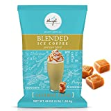 Caramel Latte Blended Ice Coffee Mix by Angel Specialty Products [3 LB]
