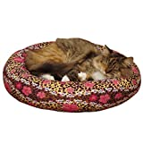 Grriggles US5424 12 Cozy Kitty Skull-fari Cat Bed, Leopard For Sale