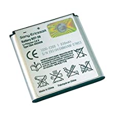 SONY ERICSSON OEM BST-38 BATTERY Z780i S302 W980
