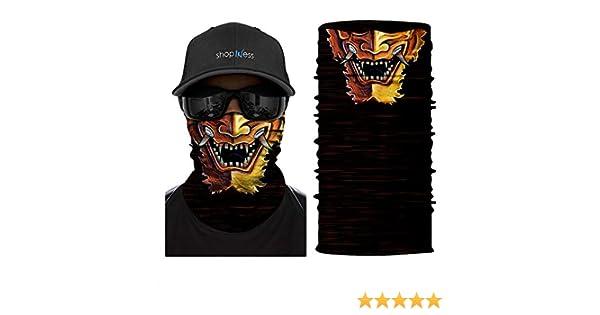 ShopINess Pañuelo Braga Multifunción - Máscara Samurai: Amazon.es ...