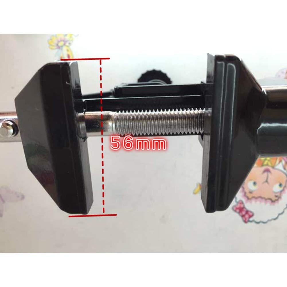 Alician Alliage daluminium Mini Table Vice /Établi Pince Vis /Étau pour DIY Artisanat Machine Fixe R/éparation Outils