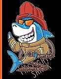 Firefighter Shark ~ Fighting Fires in Bunker Gear