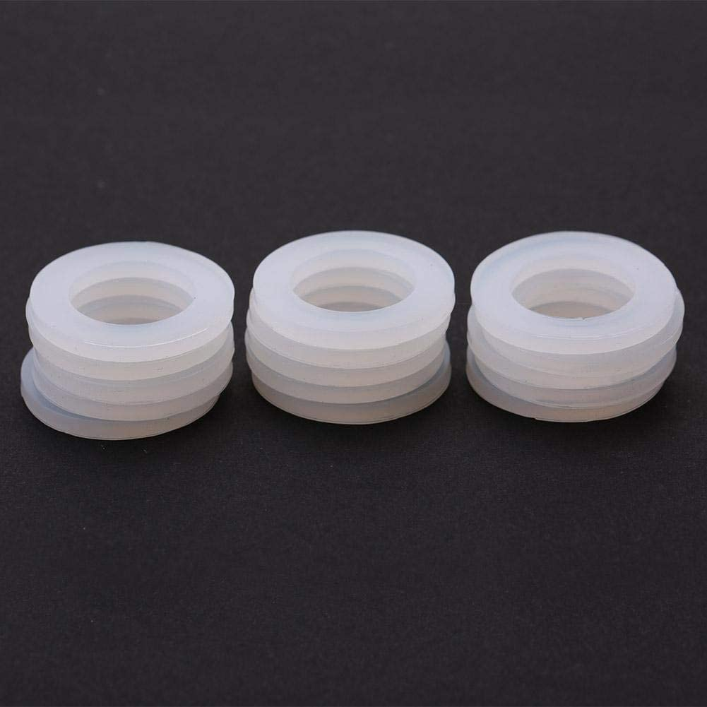Beennex 15Pcs O-Rings Water Heater Seal Silicon Flat Gaskets Washer Avirulent Insipidity 3//4