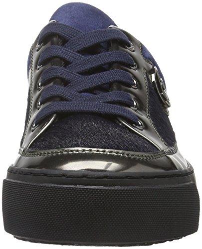 Armani Jeans 9250106a431, Women's Low-Top Sneakers Blau (Dark Navy 31835)