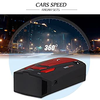 City /& Highway Mode Radar Detectors for Car Voice Alert and Car Speed Alarm System with 360 Degree Detection Zeerkeer GPS//Radar//Laser Speed Trap Detector