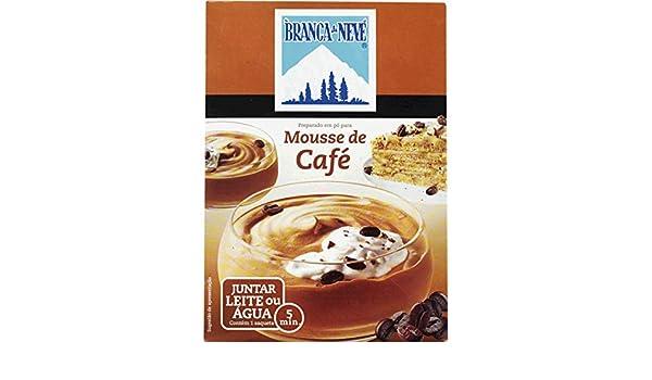 Branca de Neveenvasado de café preparadas mousse en polvo 140 g: Amazon.es: Alimentación y bebidas