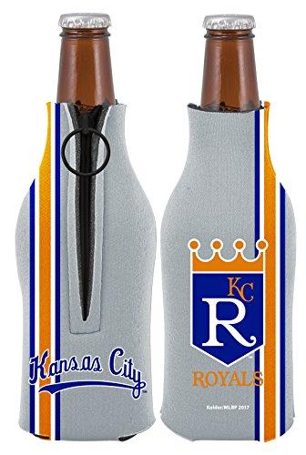 Kansas City Royals 2-PACK Zipper BOTTLE Retro THROWBACK Koozie Neoprene Holder Cooler Coolie Baseball ()