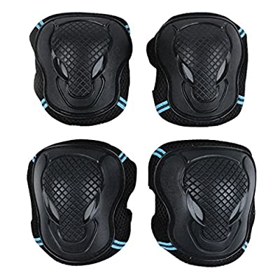 IvyH Protective Gear - 6 pcs/Set Outdoor Sports Protective Gear Knee Pads Elbow Pads Wrist Protector Skating Cycling Sports Gear for Children & Adults : Sports & Outdoors