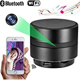 4K Hd Bluetooth Speaker Camera Wifi Spy Camera Wireless Hidden Camera for Home Night Vision Camera Security System Video Remote Viewing Camera Monitor Baby Office Nanny Cam App Camcorder for Kids
