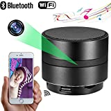 MINGYY 4K HD Bluetooth Speaker Camera WiFi Spy Camera Wireless Hidden Camera Home Night Vision Camera Security System Video Remote View Camera Monitor Baby Office Nanny Cam App Camcorder Kid