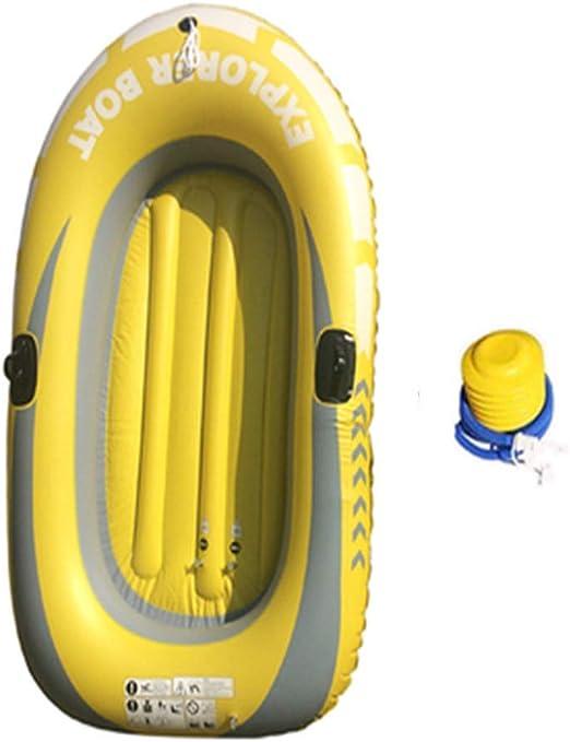 KFRSQ Fila Flotante Inflable para Piscina, Bote de plástico, Kayak ...