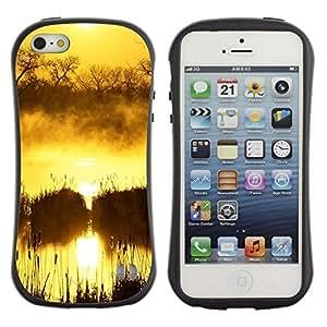 Suave TPU GEL Carcasa Funda Silicona Blando Estuche Caso de protección (para) Apple Iphone 5 / 5S / CECELL Phone case / / Sunset Beautiful Nature 100 /