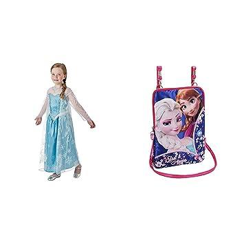 Frozen,El Reino Del Hielo [DVD] + DISFRAZ ELSA DELUXE INF: Amazon ...