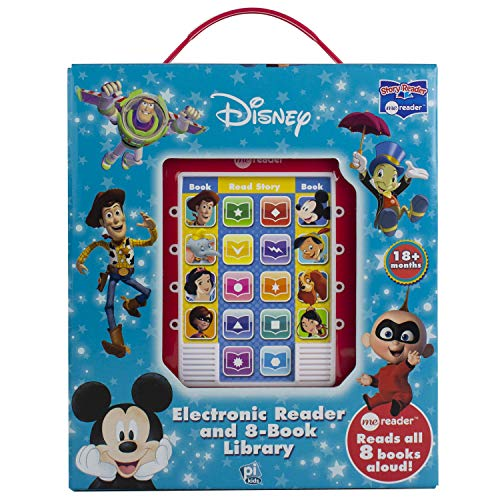 - Disney - Mickey Mouse, Toy Story and More! Me Reader Electronic Reader 8 Sound Book Library- PI Kids