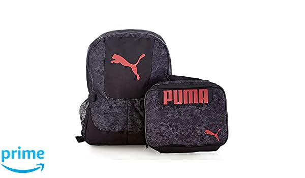 4bd512d7d7 Amazon.com: PUMA Boys Color Block Backpack & Lunch Bag Set: Clothing