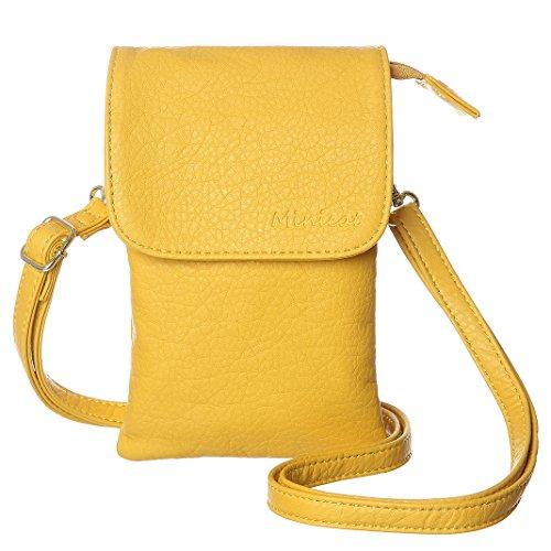 Yellow Leather Handbags - 6