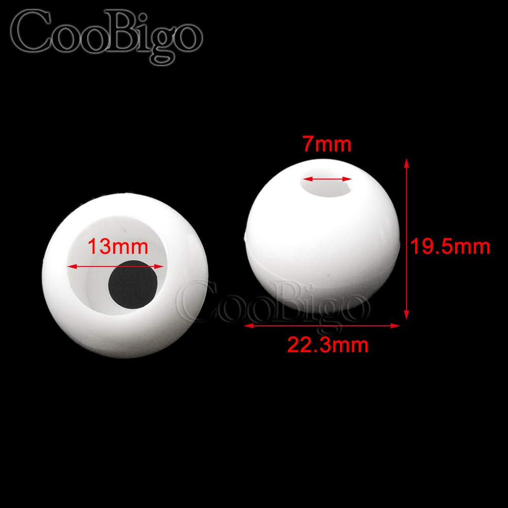 Hole Size: 3.5mm 100pcs Pack Plastic Cord Ends Lock Stopper Ball Beads Elastic Rope Bungee Ball