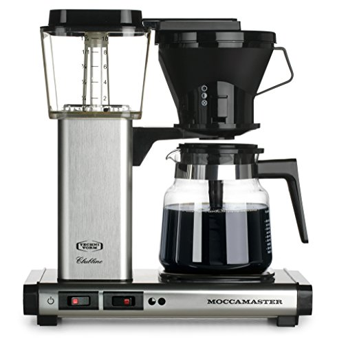 Moccamaster 10 Cup Coffee Brewer Brushed product image